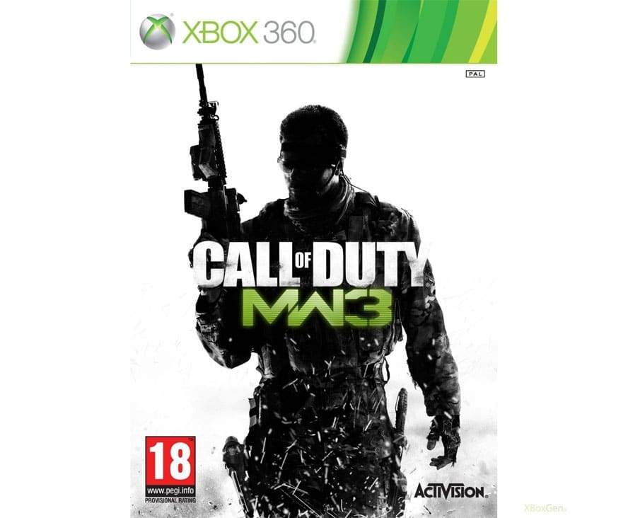 Xbox 360 Call Of Duty Modern Warfare 3 2nd Time Right