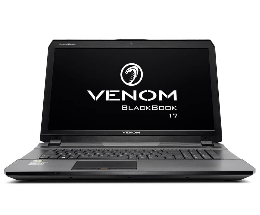 Venom BlackBook 17 (Ex-Demo) Notebook - with GTX 980M (X02606) - 2nd Time  Right